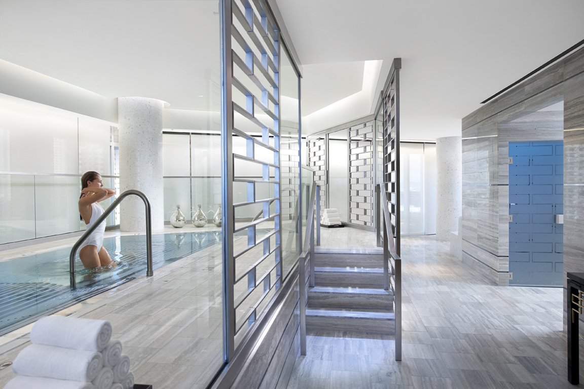 Vitality Pool, Luxury Spa Series, Mandarin Oriental Las Vegas