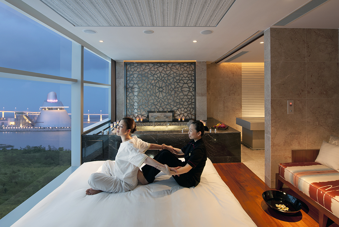 """Thai Massage"", Luxury Spa Series, Mandarin Oriental Macau"