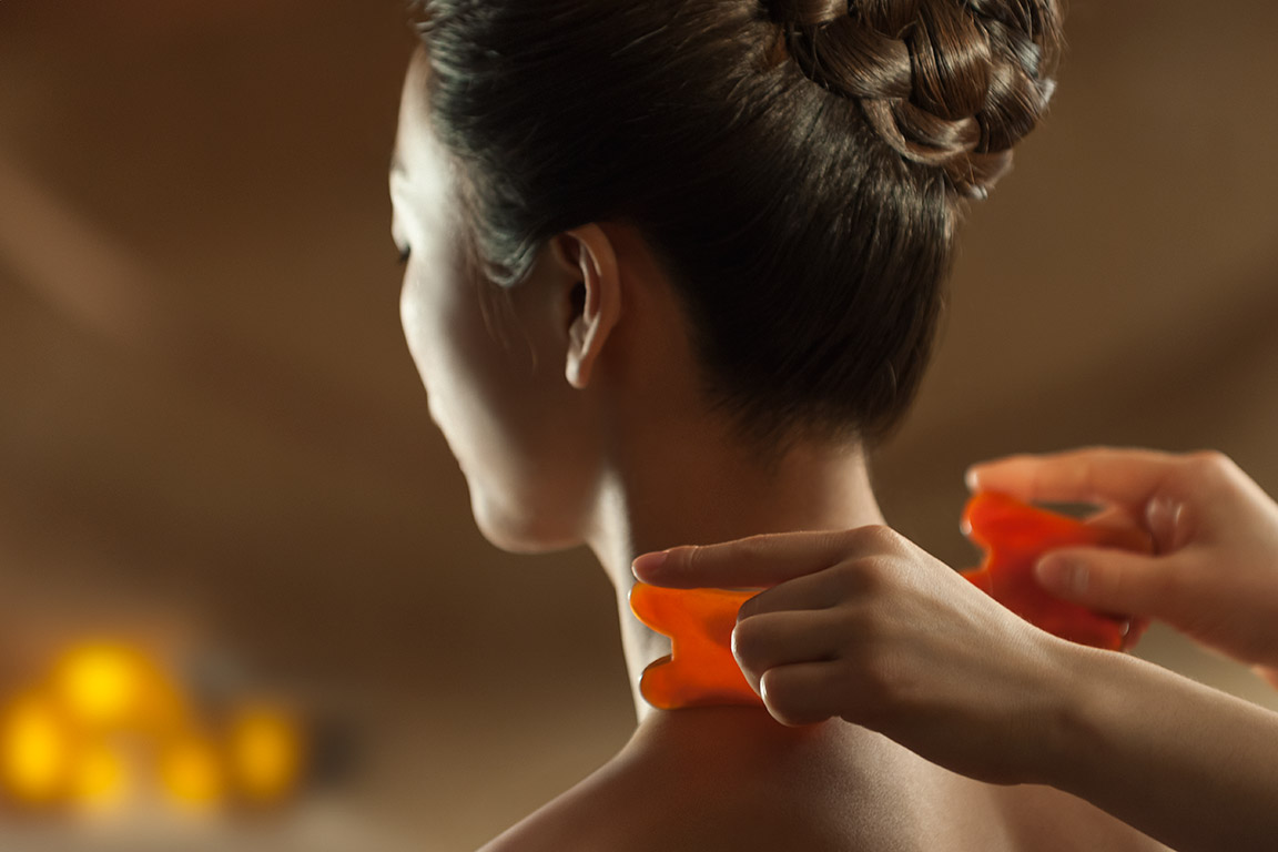 """Gua Sha Treatment"", Luxury Spa Series, Mandarin Oriental Shanghai"