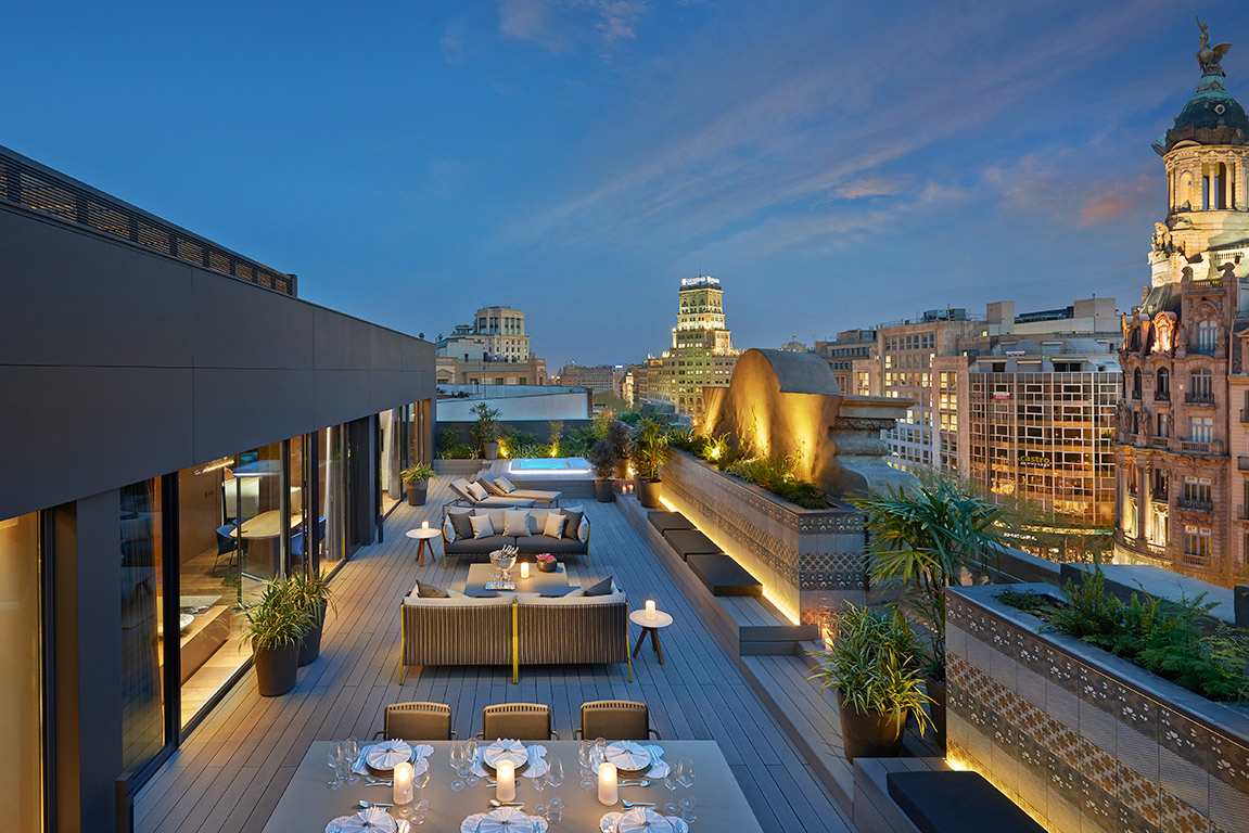 Barcelona Suite at the Mandarin Oriental Barcelona