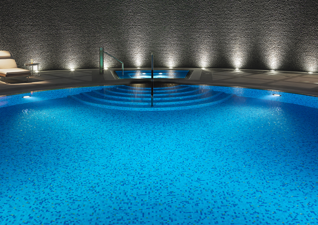Secluded pool detail at Crown Resorts, Perth, Australia