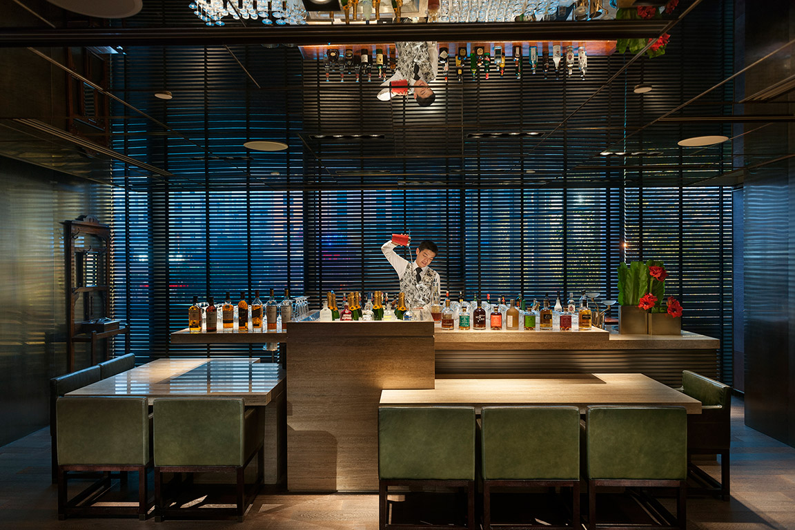 The Loft Bar at Mandarin Oriental Guangzhou