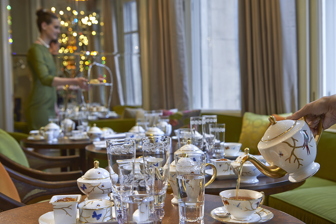 Tea Service, The Rosebery, Mandarin Oriental Hyde Park London