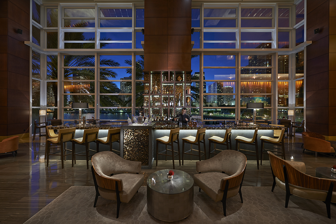 Mo Bar at Mandarin Oriental Miami