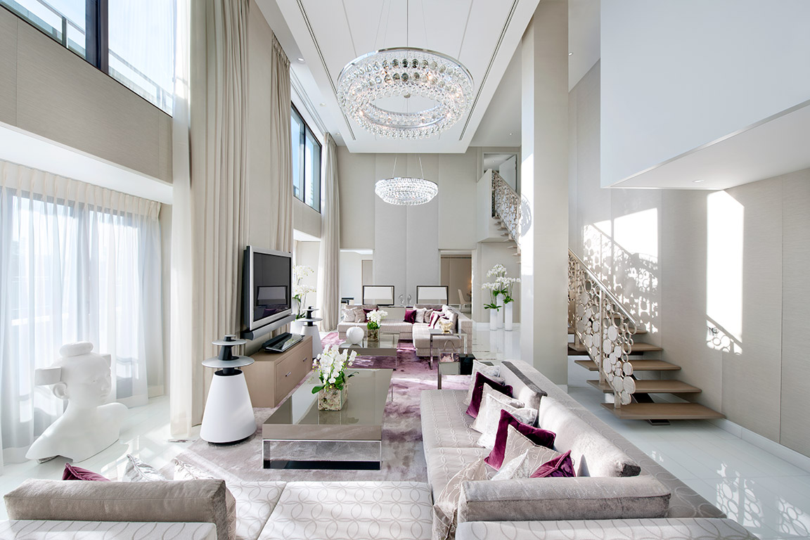 Presidential Suite of the Mandarin Oriental Paris