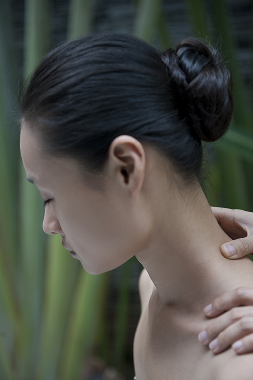 Detail of massage at Spa, Mandarin Oriental Sanya, Hainan Island, China