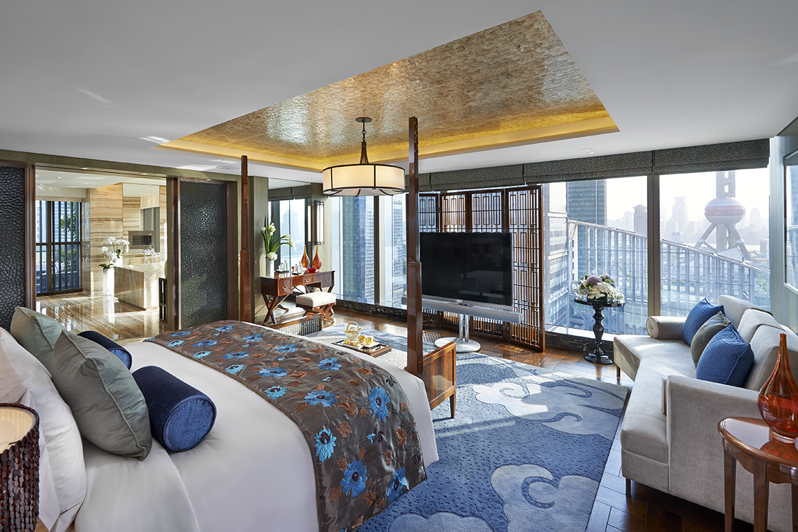 Presidential Bedroom at the Mandarin Oriental Shanghai