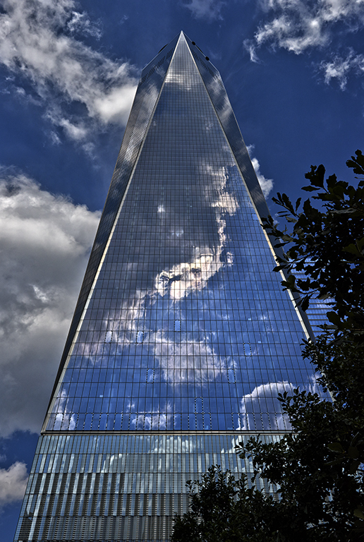 The 9/11 Memorial in New York City USA