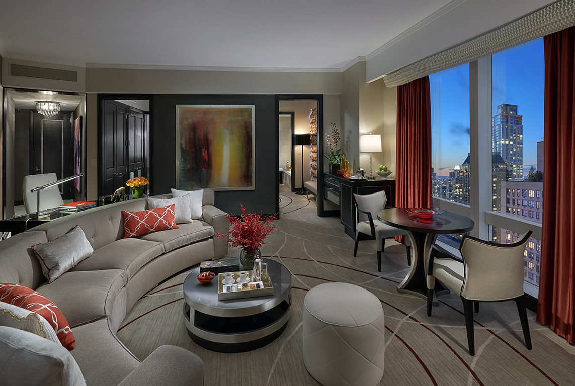 Suite with a view to Central Park in New York City