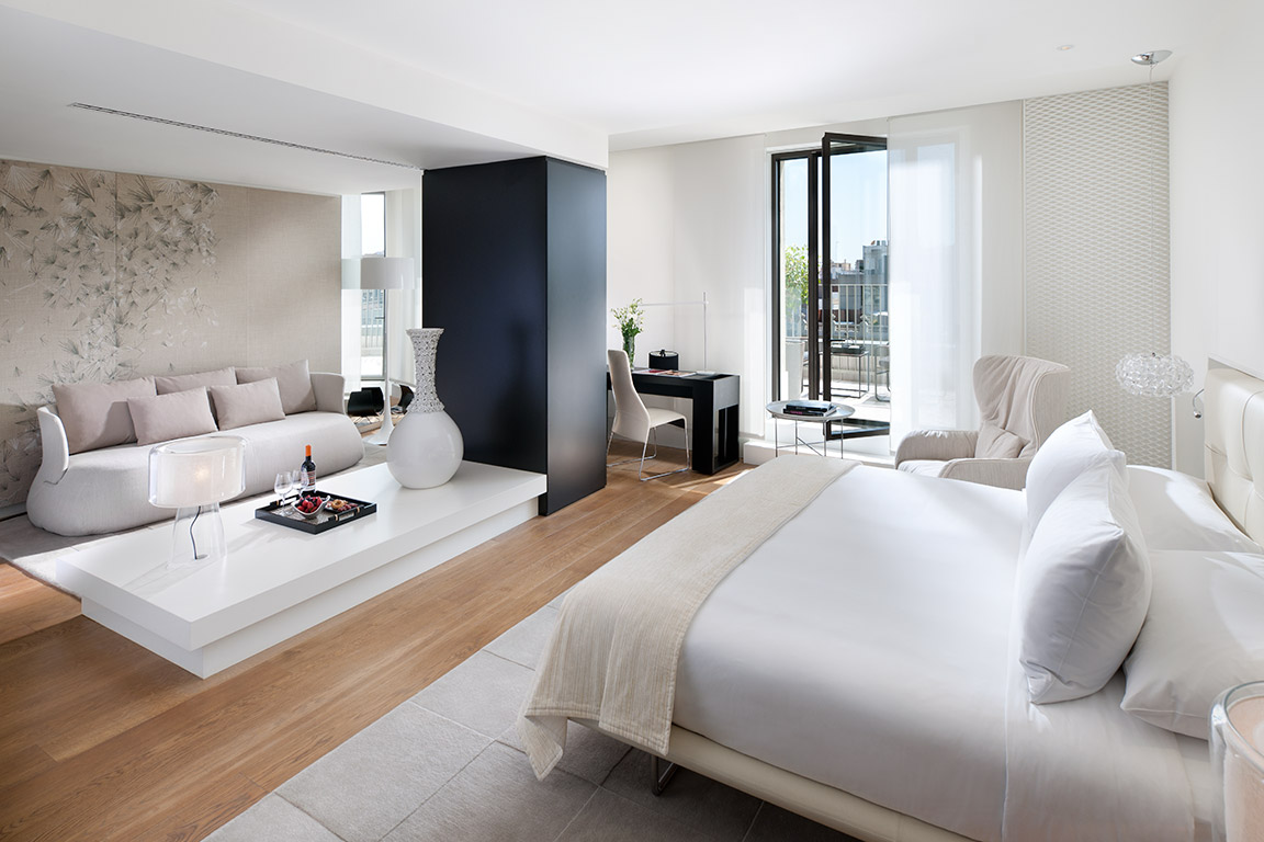 A Suite at the Mandarin Oriental Barcelona