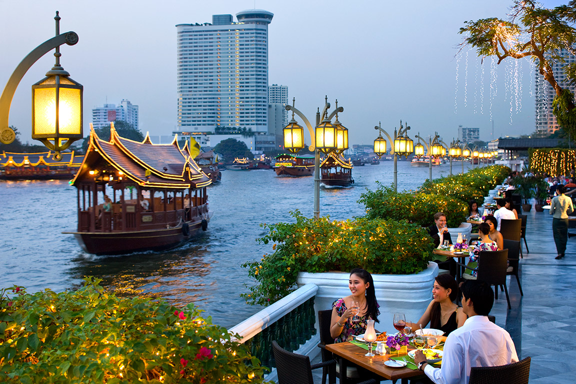 Dining at the Mandarin Oriental Bangkok