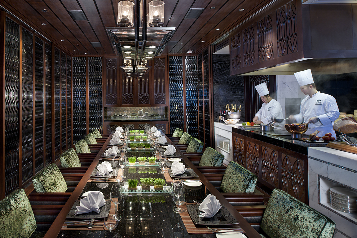 Chef's Table at Mandarin Oriental Macau