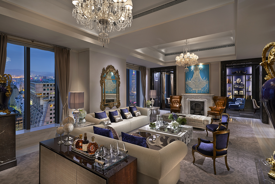 Presidential Suite at the Mandarin Oriental Taipei
