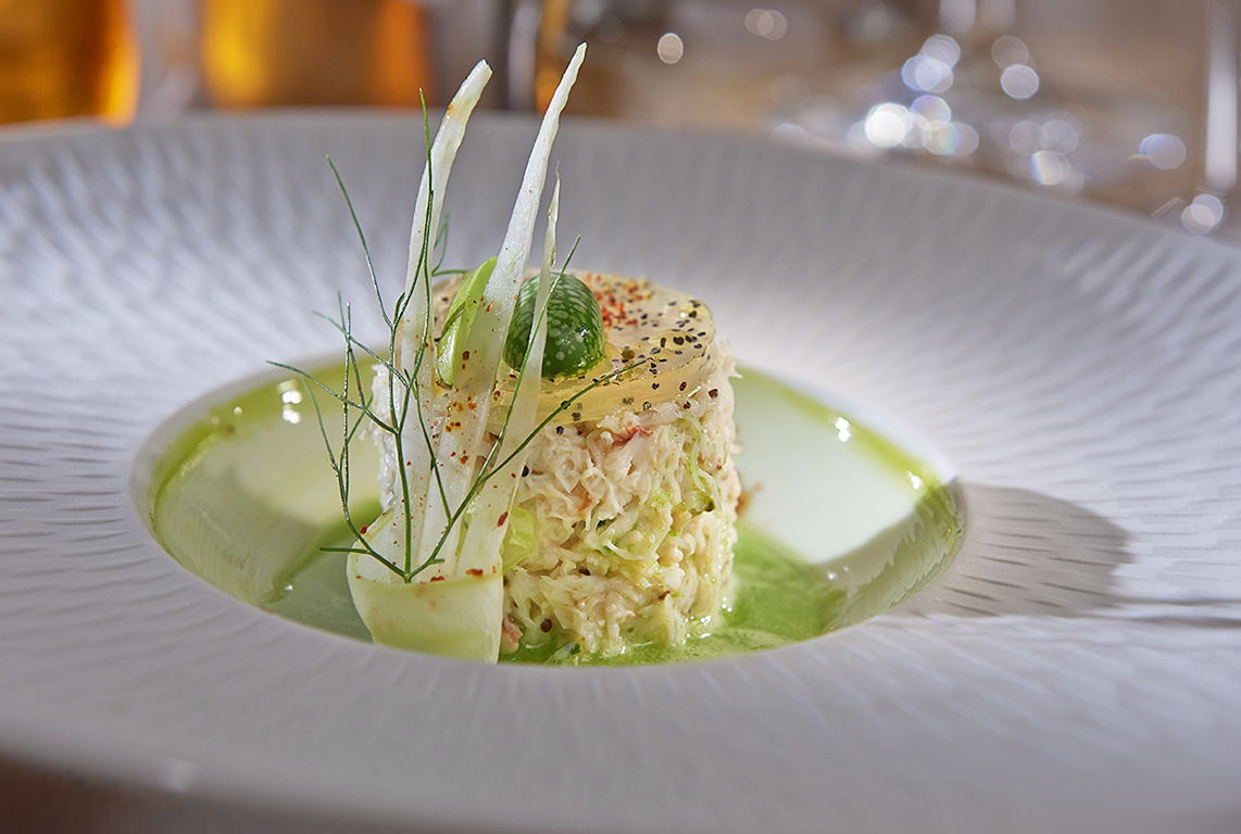 TIMBALE DE CRABE