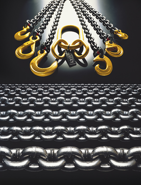 """PWB Chains & Hooks"" 1982 Type C Print 113 cm x 140 cm Original:KODAK  EKTACHROME 64 10x8 Professional / EPRTransparency"