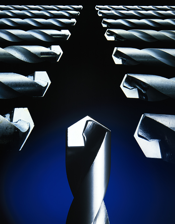 """P&N Drill Bits"" 1981 Type C Print 113 cm x 140 cm Original:KODAK  EKTACHROME 64 10x8 Professional / EPRTransparency"