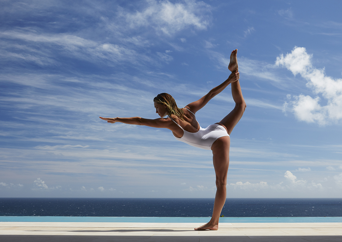 """Yoga at The Pavilion"" overlooking The Atlantic Ocean"